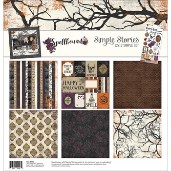 Simple Stories SPELLBOUND 12 x 12 Collection Kit 3055