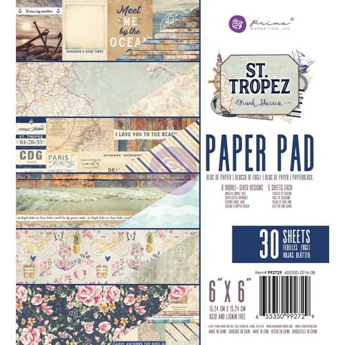 Prima Marketing ST. TROPEZ 6 x 6 Collection Kit 992729 Preview Image