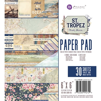 Prima Marketing ST. TROPEZ 6 x 6 Collection Kit 992729