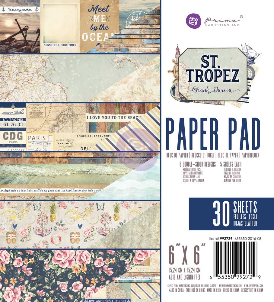 Prima Marketing ST. TROPEZ 6 x 6 Collection Kit 992729 zoom image