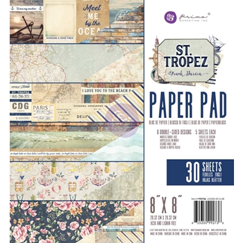 Prima Marketing ST. TROPEZ 8 x 8 Collection Kit 992736