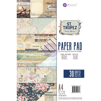 Prima Marketing A4 Paper Pad ST. TROPEZ 992743*