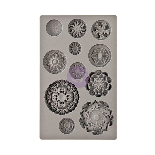 Prima Marketing MEDALLIONS IOD Vintage Art Decor Mould 815790 Preview Image