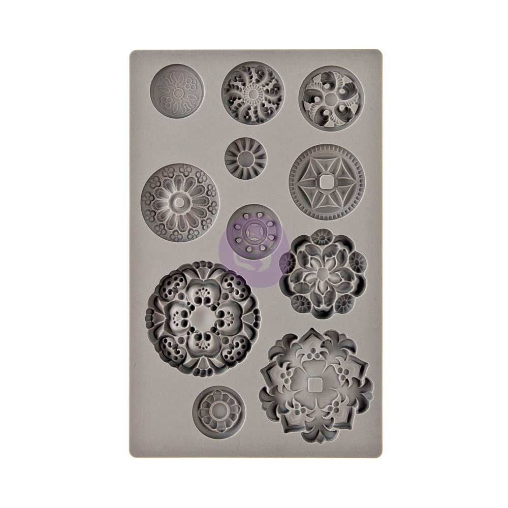 Prima Marketing MEDALLIONS IOD Vintage Art Decor Mould 815790 zoom image