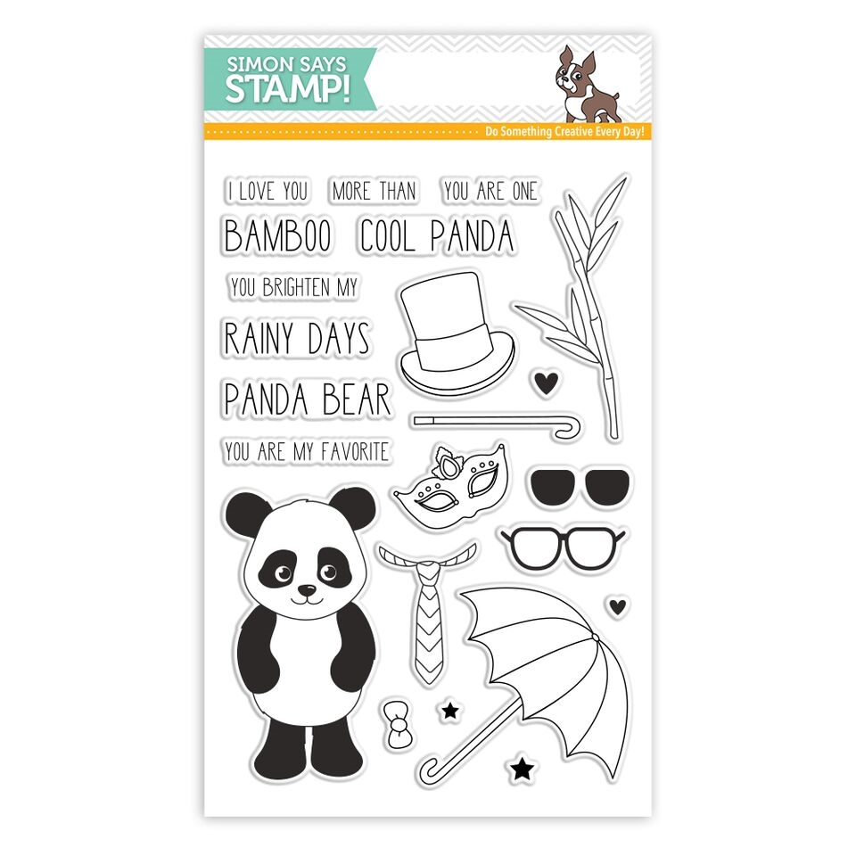 Simon Says Clear Stamps COOL PANDA