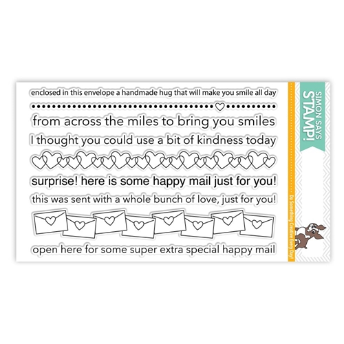 Simon Says Clear Stamps ENVELOPE GREETINGS SSS101744 Cherished Preview Image