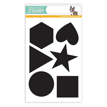Simon Says Clear Stamps BIG PERFECT SHAPES SSS101728 Cherished
