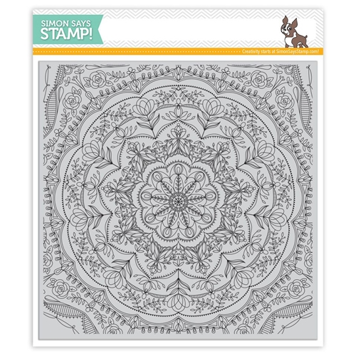 Simon Says Cling Rubber Stamp REBECCA LACE BACKGROUND SSS101741 Cherished Preview Image