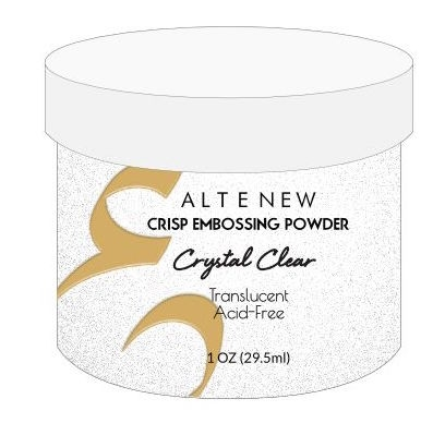 Altenew CRYSTAL CLEAR Crisp Embossing Powder ALT1726