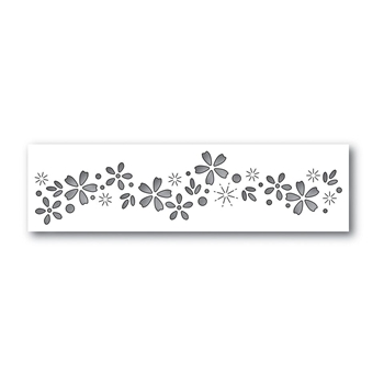 Simon Says Stamp FLORAL SPARKLE Wafer Dies S426 Cherished