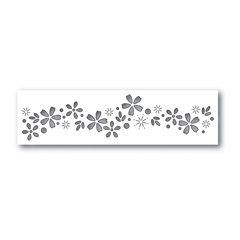 Simon Says Stamp FLORAL SPARKLE Wafer Dies