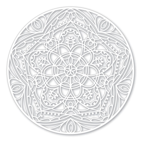 Simon Says Stencils STAR MEDALLION SSST121396 Cherished Preview Image