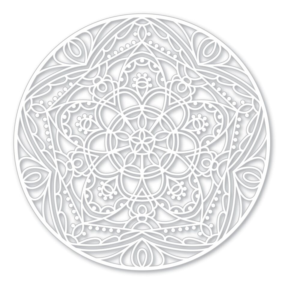 Simon Says Stencils STAR MEDALLION