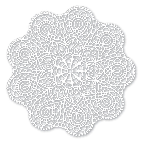 Simon Says Stencils CIRCULAR LACE SSST121395 Cherished Preview Image