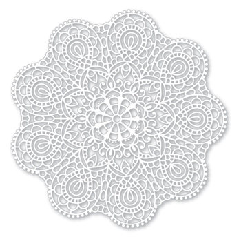 Simon Says Stencils CIRCULAR LACE SSST121395 Cherished