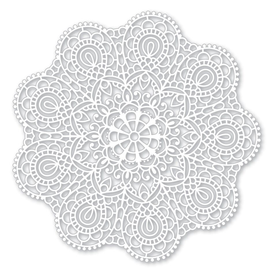 Simon Says Stencils CIRCULAR LACE