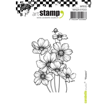 Carabelle Studio FLOWERS Cling Stamp SA70133