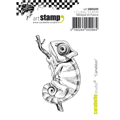 Carabelle Studio CAMELEON Cling Stamp SMI0209 Preview Image