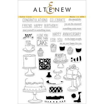 Altenew CAKE LOVE Clear Stamp Set ALT1687
