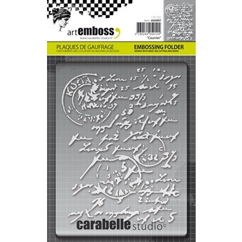 Carabelle Studio COURRIER Embossing Folder AE60007