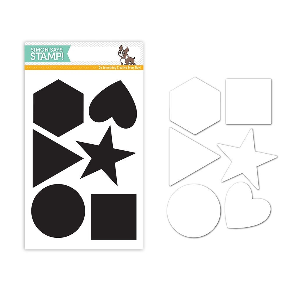 Simon Says Stamps and Dies BIG PERFECT SHAPES