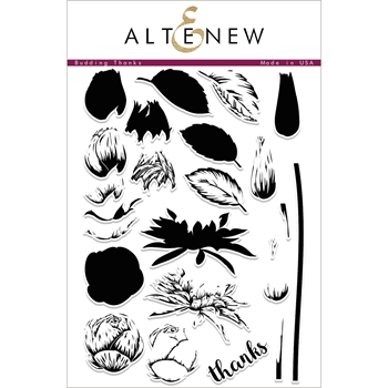 Altenew BUDDING THANKS Clear Stamp Set ALT1686