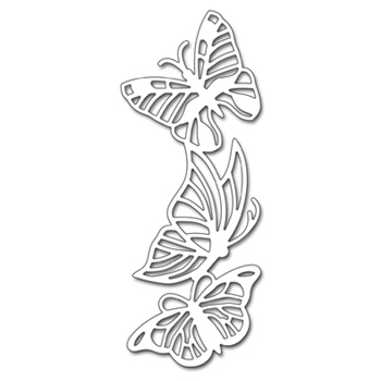 Penny Black BUTTERFLY TRIO Thin Metal Creative Die 51-306