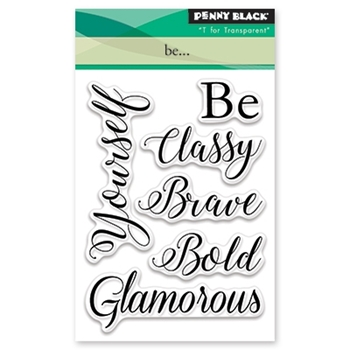 Penny Black BE Clear Stamp Set 30-433