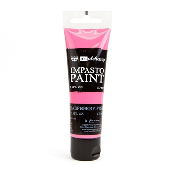 Prima Marketing RASPBERRY PINK Finnabair Art Alchemy Impasto Paint 964566