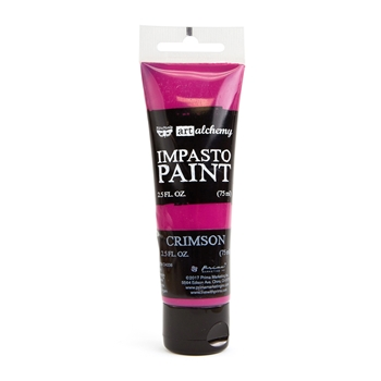 Prima Marketing CRIMSON Finnabair Art Alchemy Impasto Paint 964573