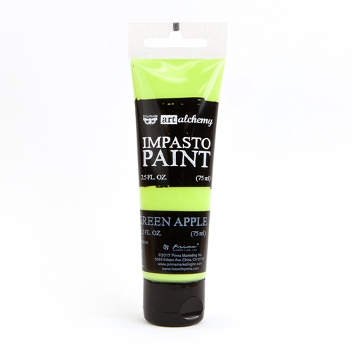 Prima Marketing GREEN APPLE Finnabair Art Alchemy Impasto Paint 964603 Preview Image