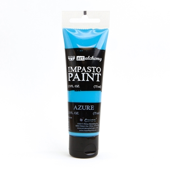 Prima Marketing AZURE Finnabair Art Alchemy Impasto Paint 964634