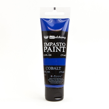 Prima Marketing COBALT Finnabair Art Alchemy Impasto Paint 964641