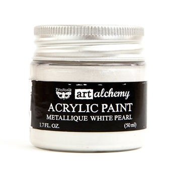 Prima Marketing METALLIQUE WHITE PEARL Art Alchemy Acrylic Paint 964436