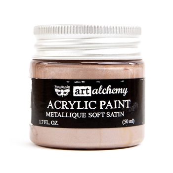 Prima Marketing METALLIQUE SOFT SATIN Art Alchemy Acrylic Paint 964443
