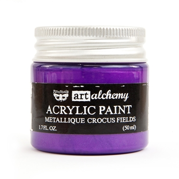 Prima Marketing METALLIQUE CROCUS FIELDS Art Alchemy Acrylic Paint 964474