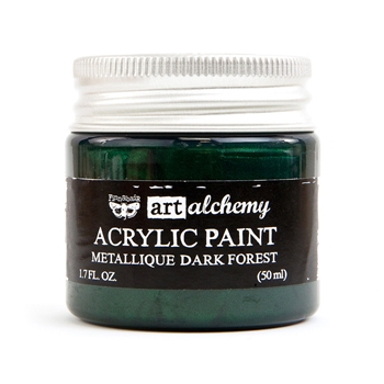 Prima Marketing METALLIQUE DARK FOREST Art Alchemy Acrylic Paint 964481