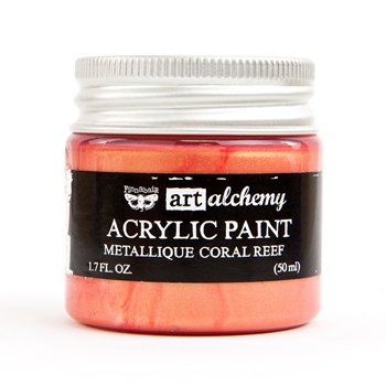 Prima Marketing METALLIQUE CORAL REEF Art Alchemy Acrylic Paint 964504