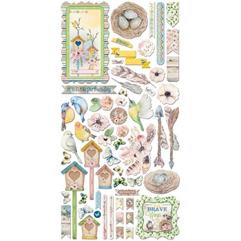 BoBunny SERENDIPITY Die Cuts Noteworthy 21713067