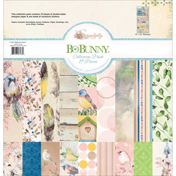 BoBunny 12 x 12 SERENDIPITY Collection Pack 21716133