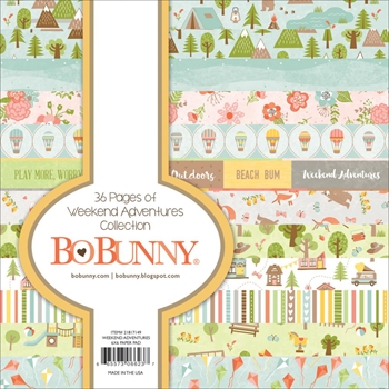 BoBunny 6 x 6 WEEKEND ADVENTURES Paper Pad 21817149