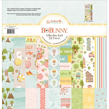 BoBunny 12 x 12 WEEKEND ADVENTURES Collection Pack 21816150