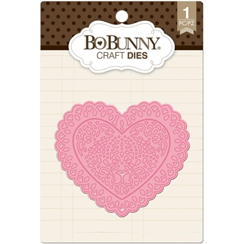 BoBunny ORNATE HEART Craft Dies 12839089