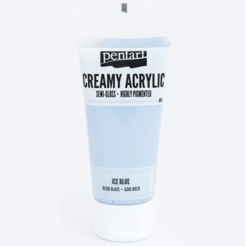 Pentart ICE BLUE Creamy Semi-Gloss Acrylic Paint 27977
