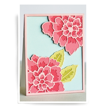 Birch Press Design PEONY BLOOM LAYER SET Craft Dies 56063