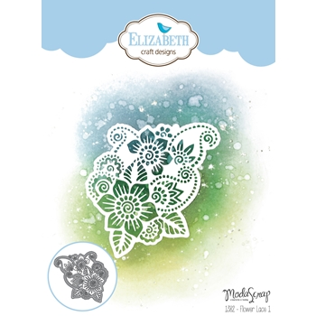 Elizabeth Craft Designs FLOWER LACE 1 Craft Die 1382
