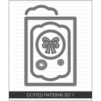 Studio Katia DOTTED PATTERNS SET 1 Creative Dies STK028