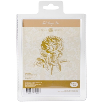 Couture Creations CLASSIC ROSE Hotfoil Plate CO725293