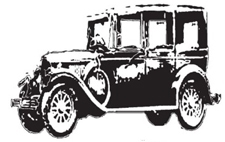 Tim Holtz Rubber Stamp THE AUTOMOBILE Car p5-1089