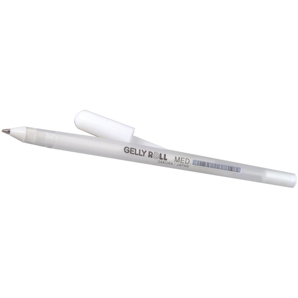 Sakura WHITE MEDIUM POINT Gelly Roll Classic Gel Pen 37819 zoom image